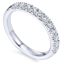 Load image into Gallery viewer, 14k White Gold 0.50 Carat Diamond Band
