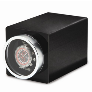 Black Metal Single Watch Winder