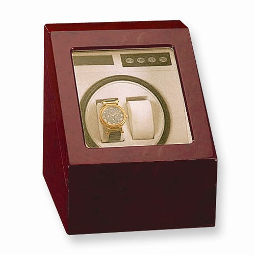 Gloss Finish Shared Turntable Dual Watch Winder