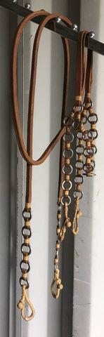 Matching headstall and reins (Never been on a horse)