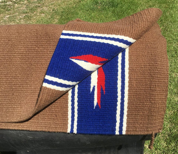 "Used 33"" x 66"" saddle blanket"