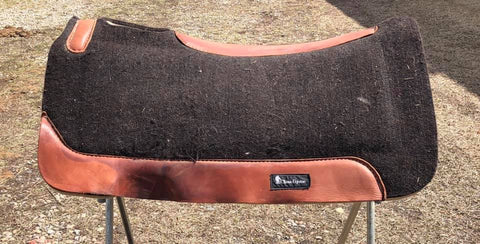 "Used Classic Equine saddle pads, 1"" thick, 31"" length"