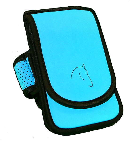Horse Holster - cell phone holder designed for Horseback riding and other activities