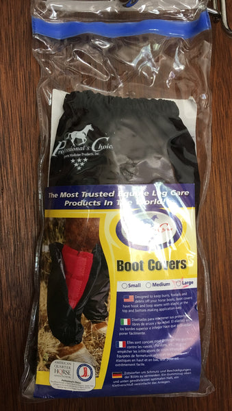 Professionals Choice Boot Covers - Black