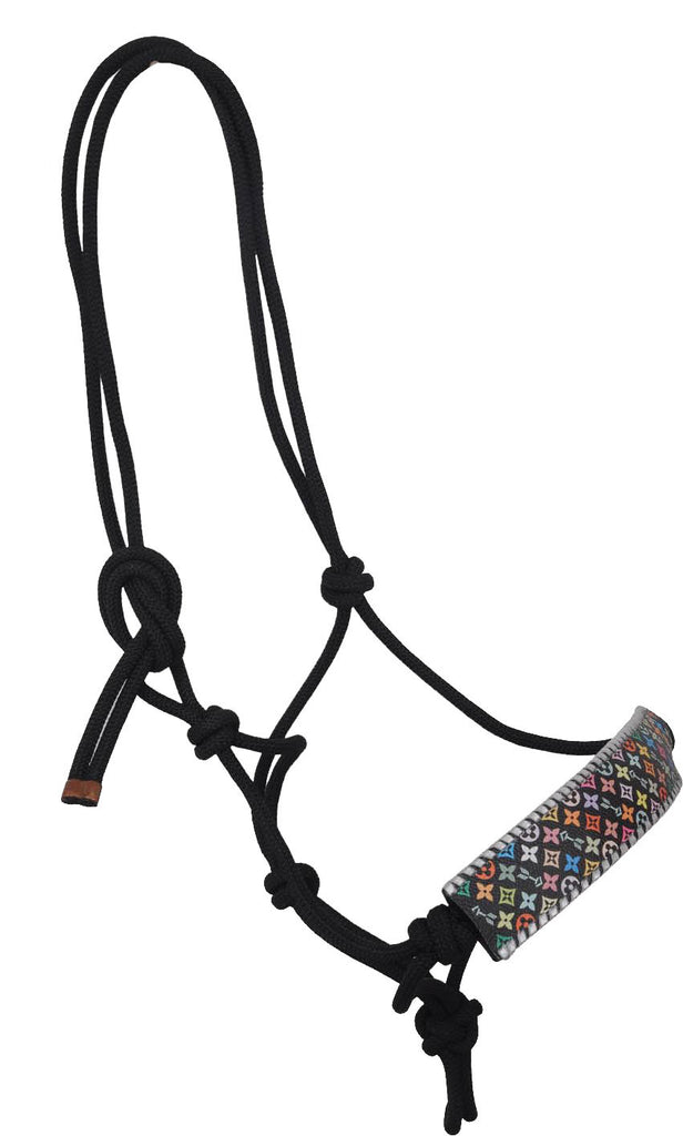 Multi-Color Rafter T Rope Halter