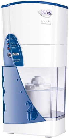 Pureit Classic 23 L Gravity Based Water Purifier  (White, Blue)