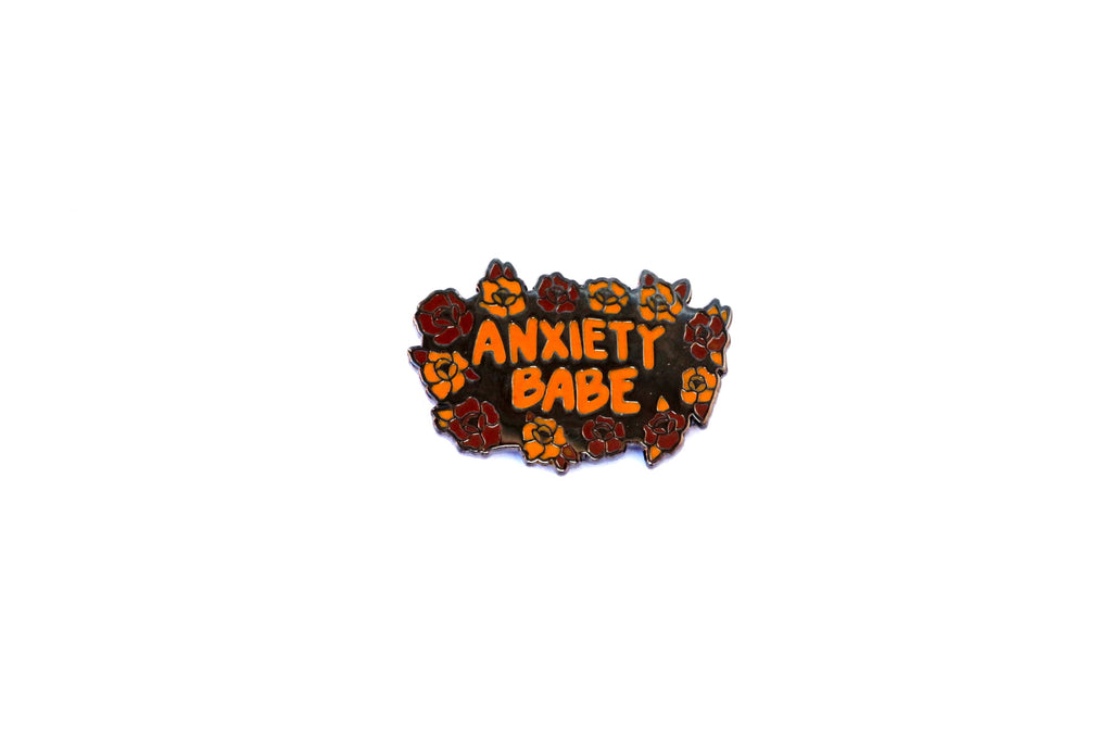 The Anxiety Babe Pin