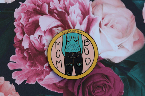 The Mom Bod Pin
