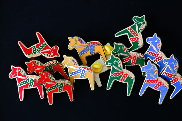 The Dala Horse Pin