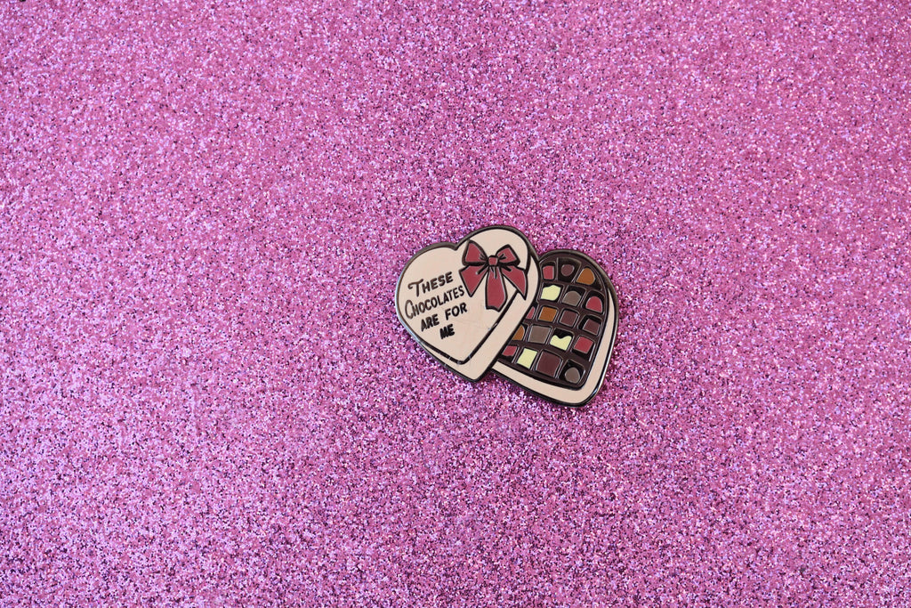 IMPERFECT CHOCOLATES PIN