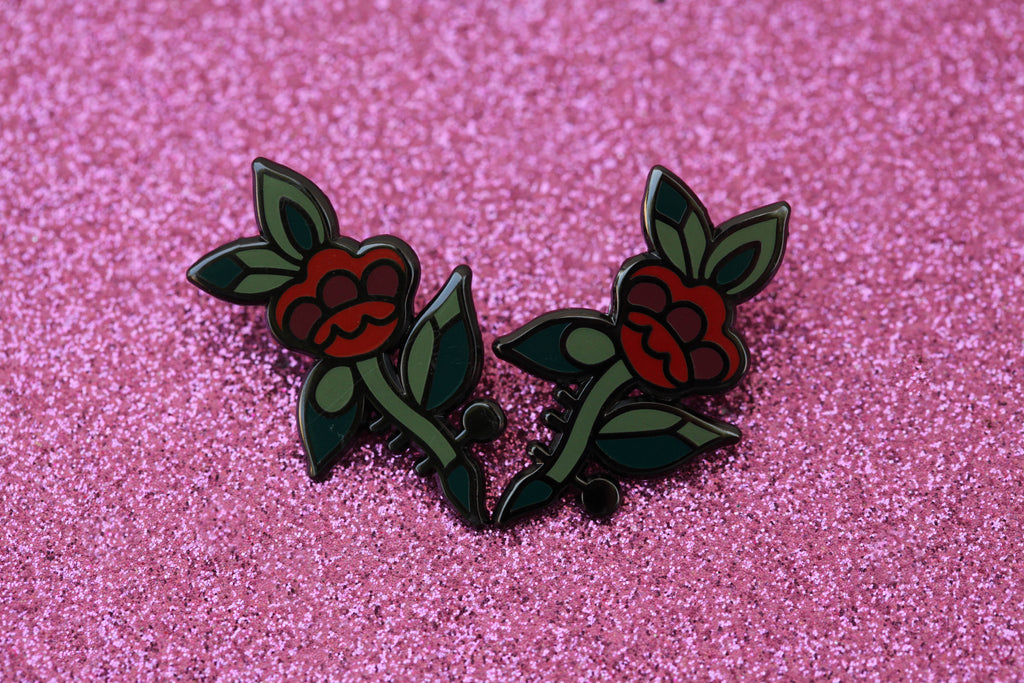 The Floral Pin SET - 2 at a discounted rate