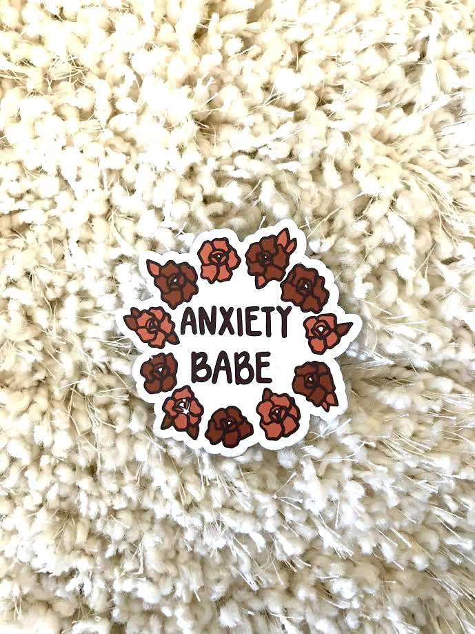 Anxiety Babe Magnet
