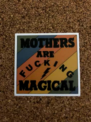 The Rainbow Magical Mom Sticker
