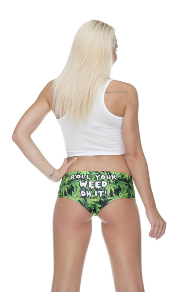 Roll Your Weed On It Panty by Sassypants