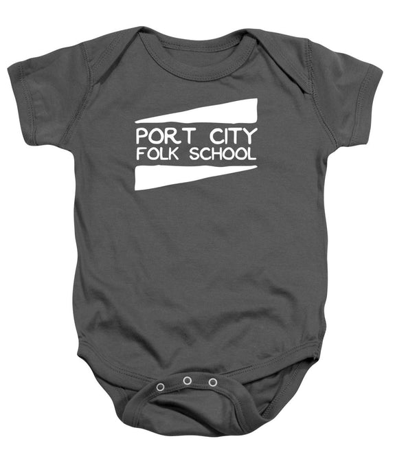 Port City Folk School - Baby Onesie
