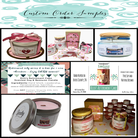 custom candles bucks county pa
