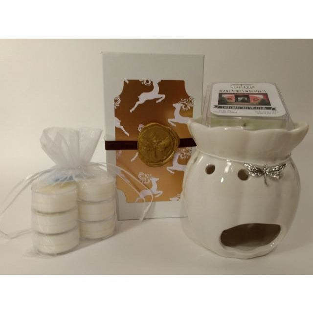 Wax Melt Gift Set (Ivory, Black or Burgundy)