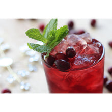 Cranberry Mint Julep