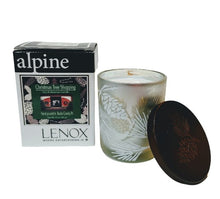 Libellule in Lenox - Christmas Tree Shopping Scented - Wood Wick Candle