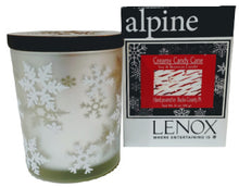 Libellule in Lenox - Creamy Candy Cane Scented - Wood Wick - Soy & Beeswax Candle