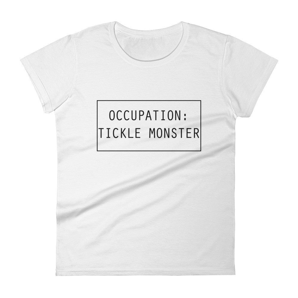 "Women's short sleeve ""Tickle Monster"" T- shirt"