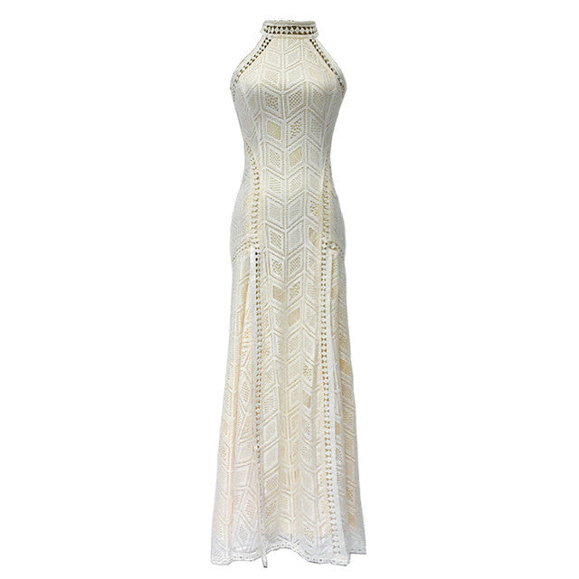 "Inspired by Rachel's look on ""The Bachelorette"" - White Lace Dress"