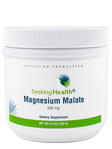 Magnesium Malate Powder | Provides 500 mg of Magnesium Malate as Dimagnesium Malate Per Serving | Physician Formulated | Seeking Health