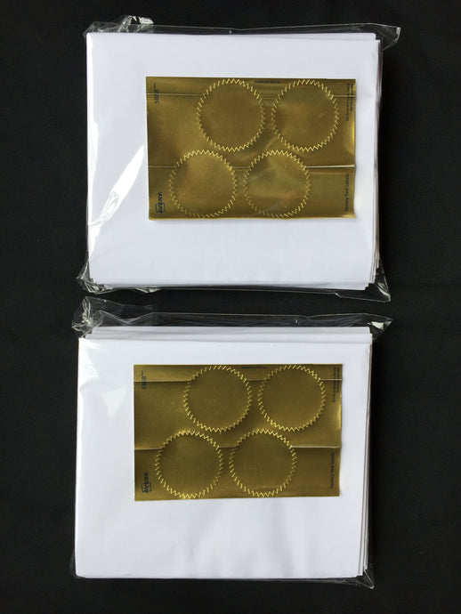 24 x Nobrainer Prediction Papers with Gold Seals