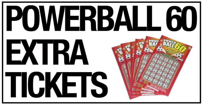 Powerball 60 Extra Tickets