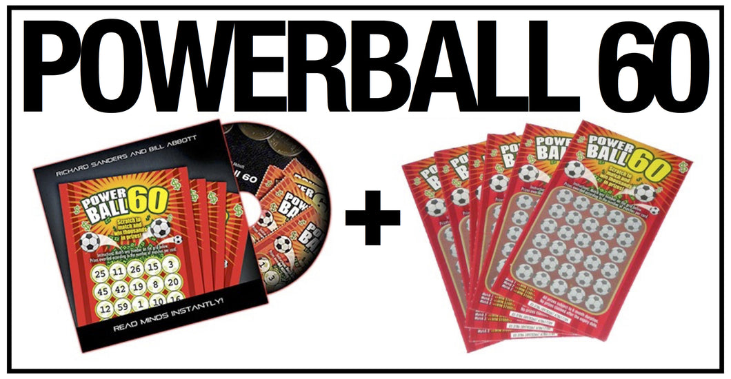 Powerball 60 by Richard Sanders & Bill Abbott