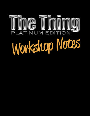 Thing Workshop Notes PDF