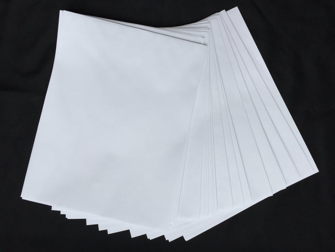 24 x Nobrainer White Envelopes