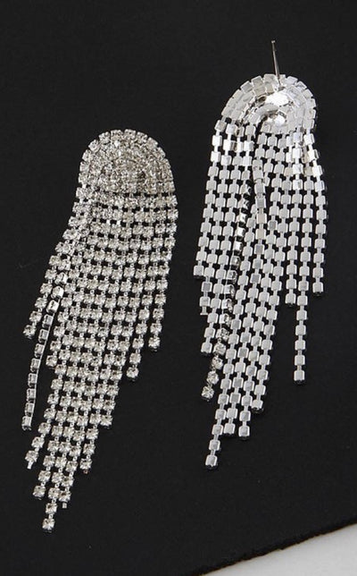 Statement Diamonte Earrings