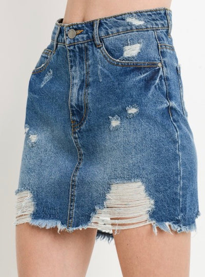 Lois Denim Skirt - Porterie