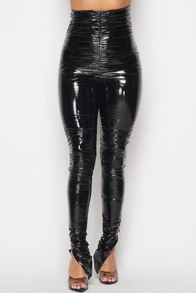 Super Latex Ruched Pant
