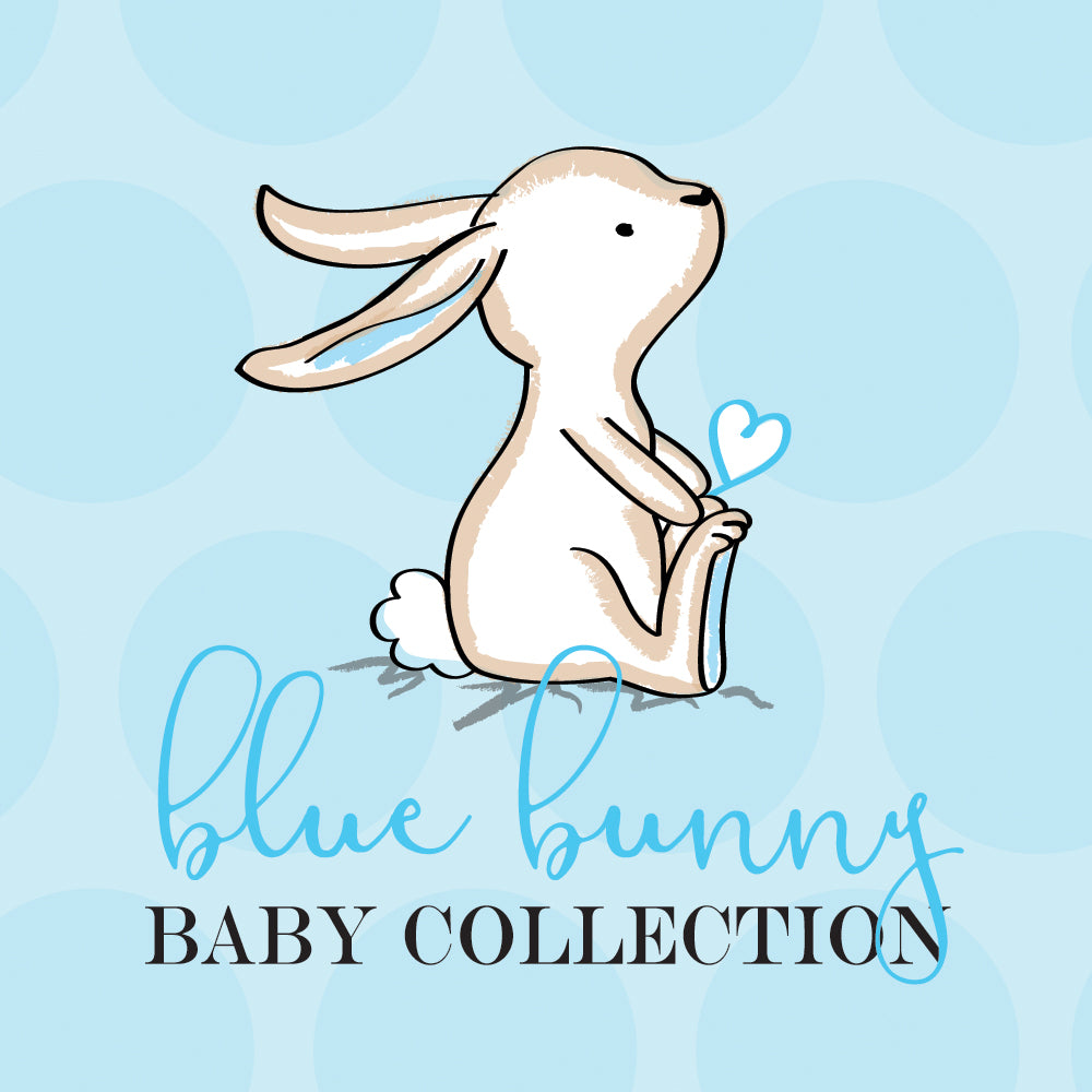 Blue Bunny Baby Shower