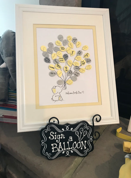 Yellow Elephant Guest Book