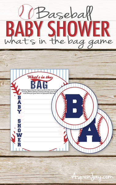 Baseball Baby What's in the Bag