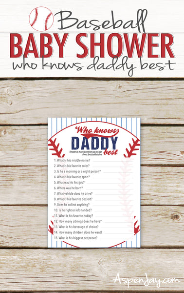 Baseball Who Knows Daddy Best
