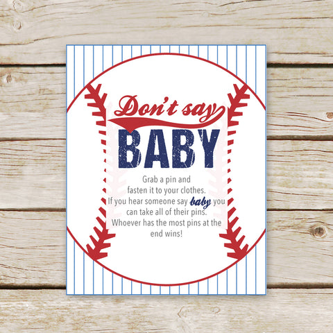 Baseball Don't Say Baby