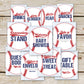 Baseball Baby Shower Signs