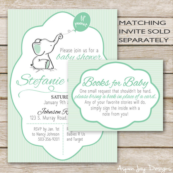 Green Elephant Books for Baby