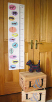 Animal Height Chart For Kids