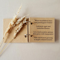 Rustic Woodland Baby Shower Gift