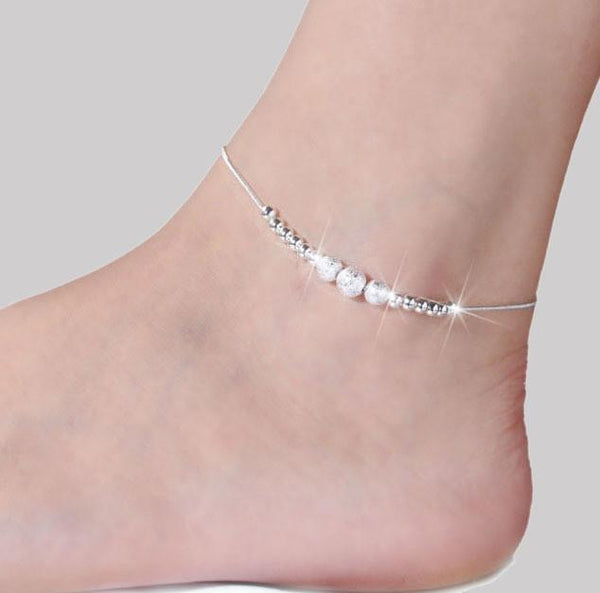 Various Selection of Double Chained & Charmed Anklets
