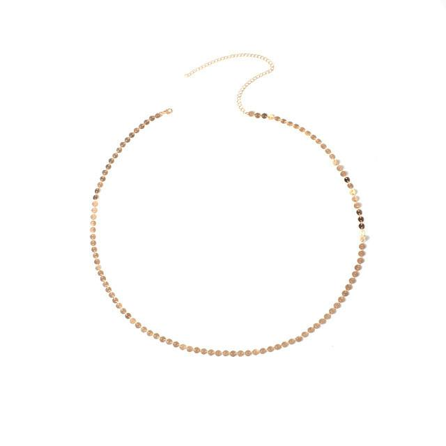 Summer Sequins Beach Style Layering Waist Chain in Gold or Silver