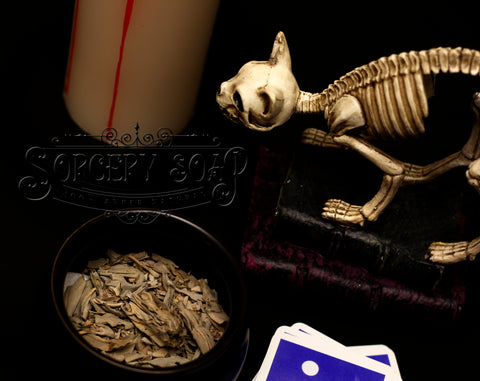 Bone Cat Sorcery Soap