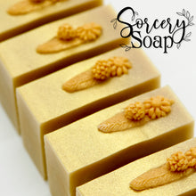 Load image into Gallery viewer, Golden Flower Soap