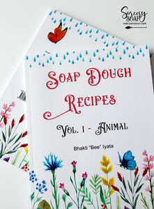 Soap Dough Recipe Book of Light and Shadow Vol. 1 - PRINT