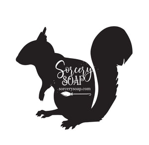 Squirrel Stencil